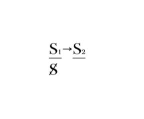 Рис. 7. Означающее представляет субъект перед другим означающим.