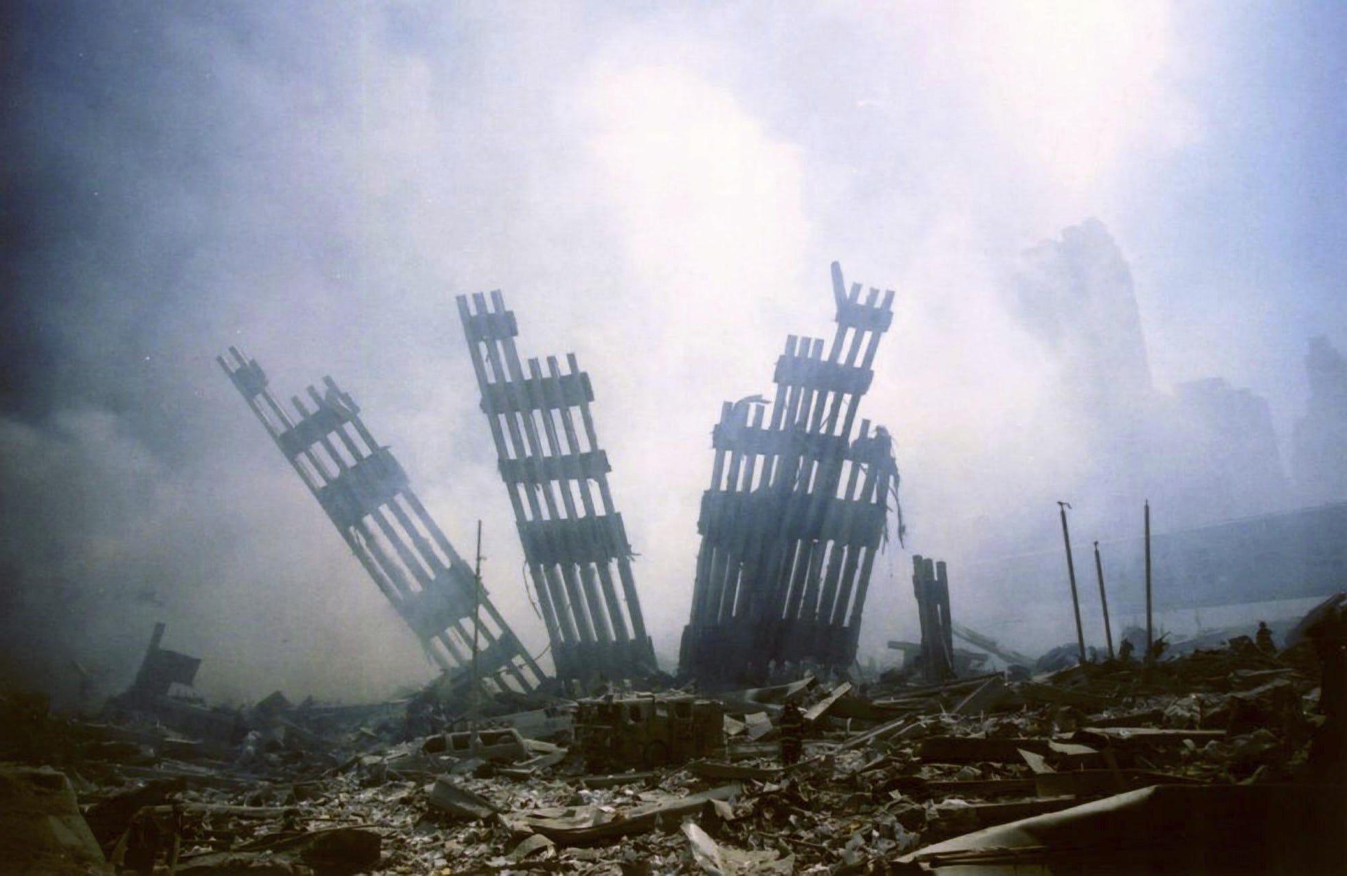 Руины Всемирного торгового центра, Нью-Йорк