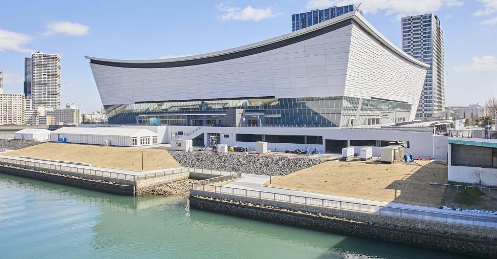 Волейбольная арена Олимпиады в Токио-2020