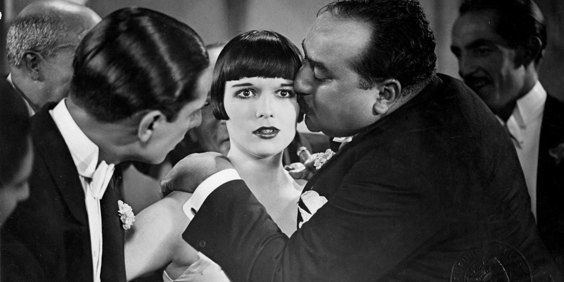 Луиза Брукс в фильме«Ящик Пандоры», Георг Вильгельм Пабст, 1928