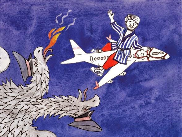 Иллюстрация с портала <a>«Ходжа Насреддин в России»</a>.