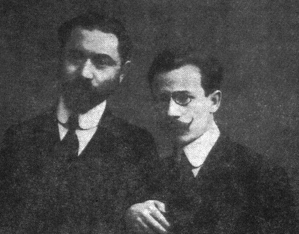 Вольф и Аба Гордины