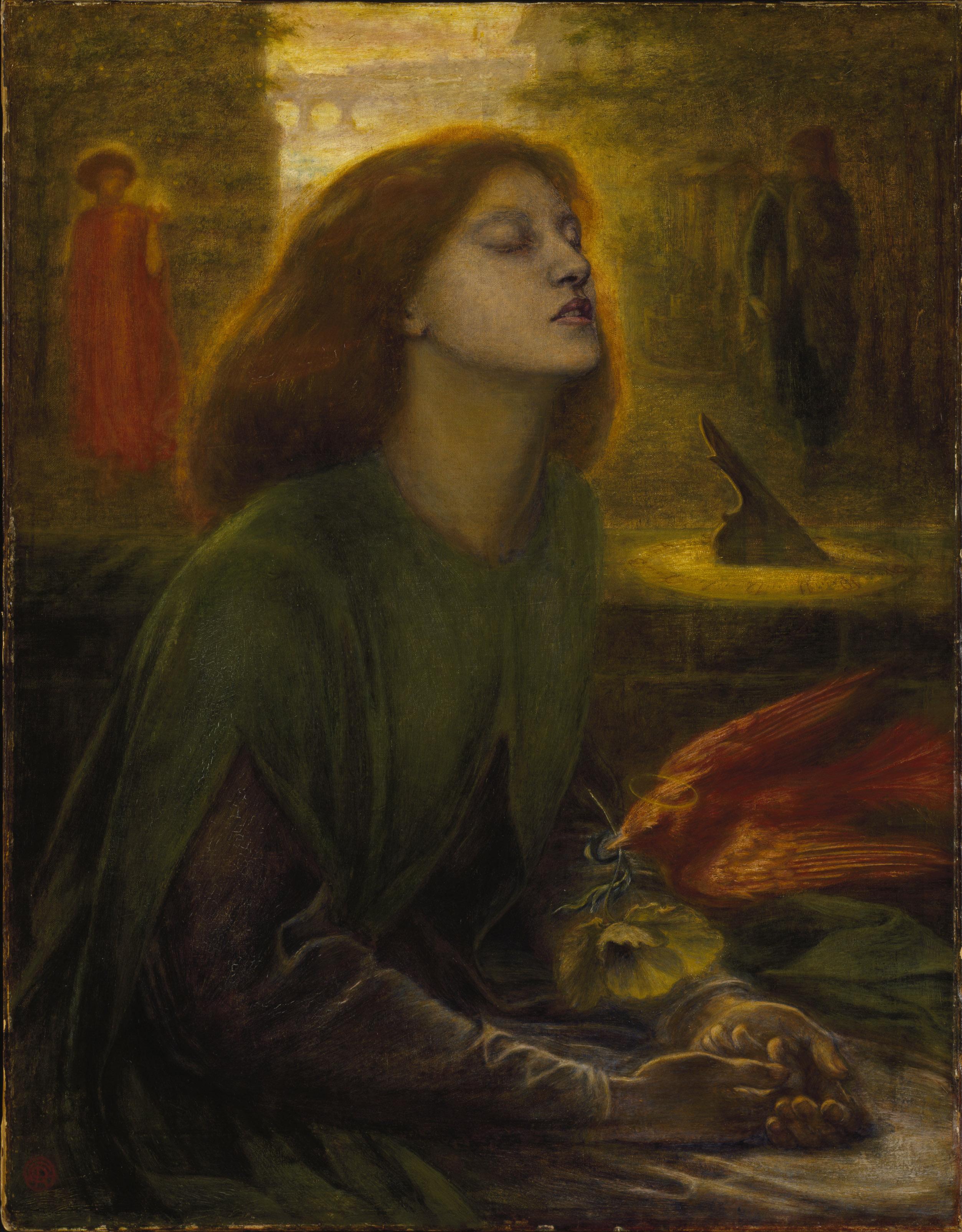 Beata Beatrix, Габриэль Данте Россетти