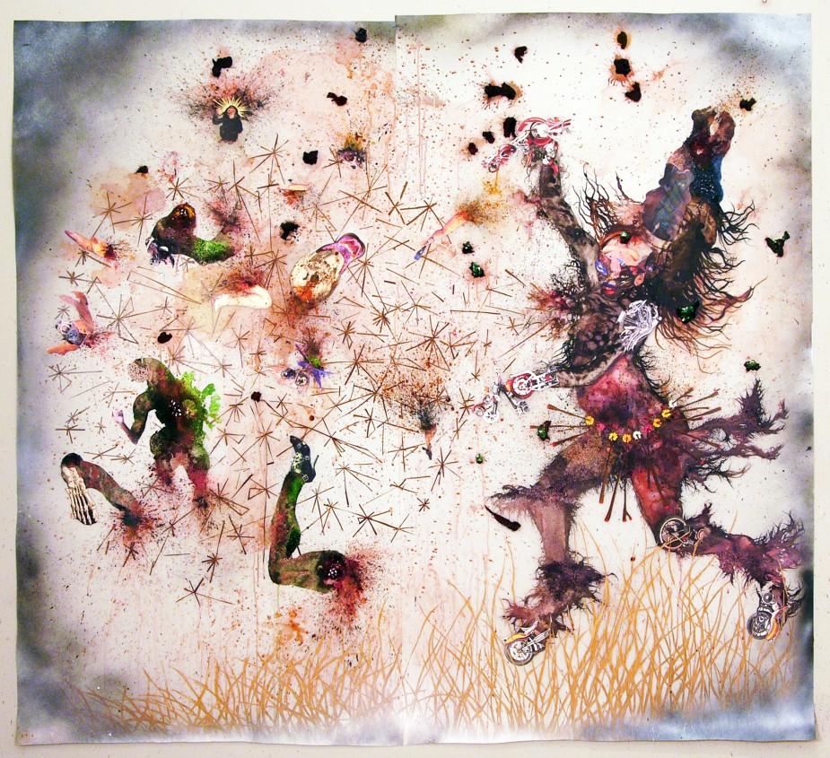 Wangechi Mutu, Try Dismantling the Little Empire Inside You, 2007