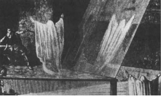 Фантасмагорические эффекты: театральное представление середины XIX века.