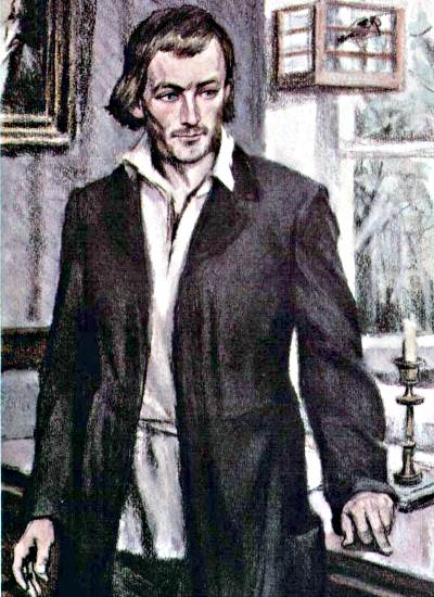 Евгений Базаров, главный персонаж романа «Отца и дети» И.С. Тургенева