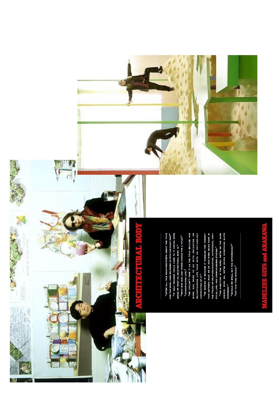 Аракава/Гинс + «Architectural Body». Courtesy:https://tinyurl.com/5xtsbn3r