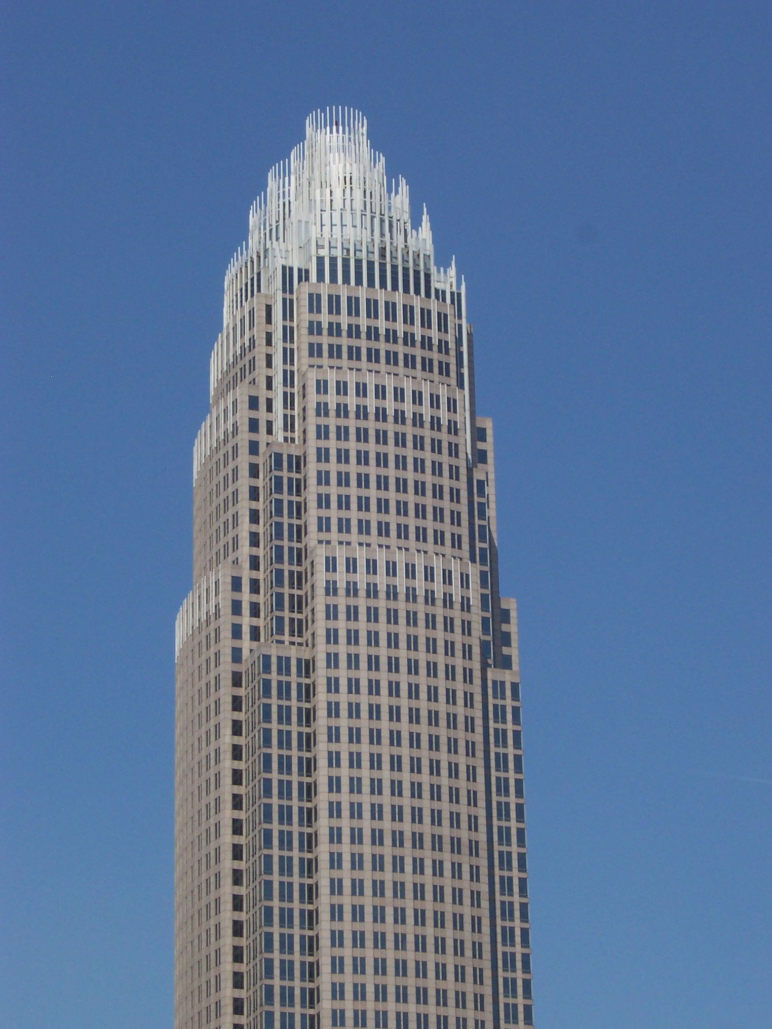 Главный офис Bank of America. Подчеркнуто дорогой, прямо таки источающий сигналы величия