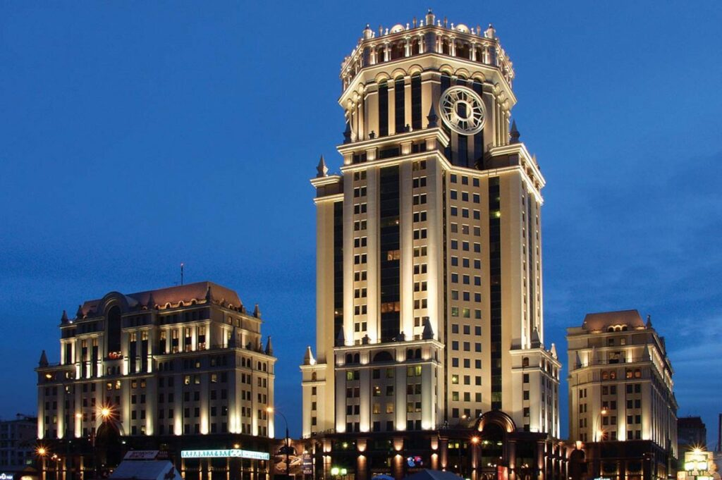 Павелецкая-плаза на Павелецкой, Москва © heliocity.ru