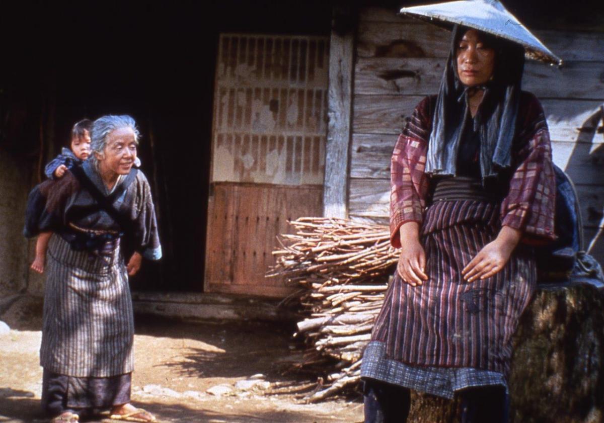 Кадр из фильма «Легенда о Нараяме» (С. Имамура, 1983)
