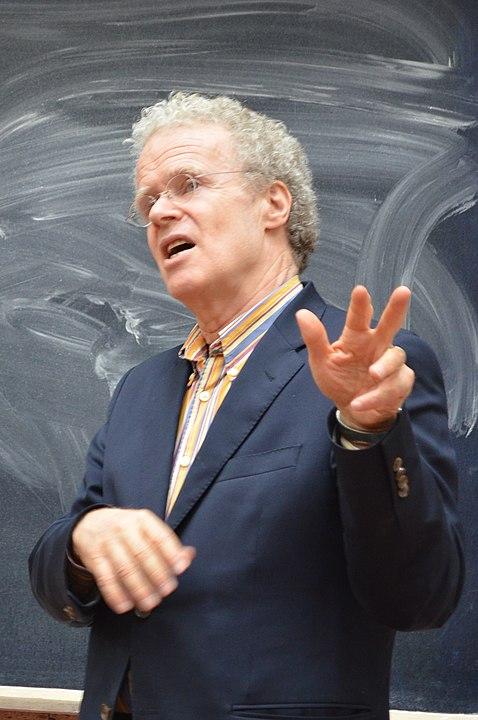 Эрик Олин Райт на лекции
