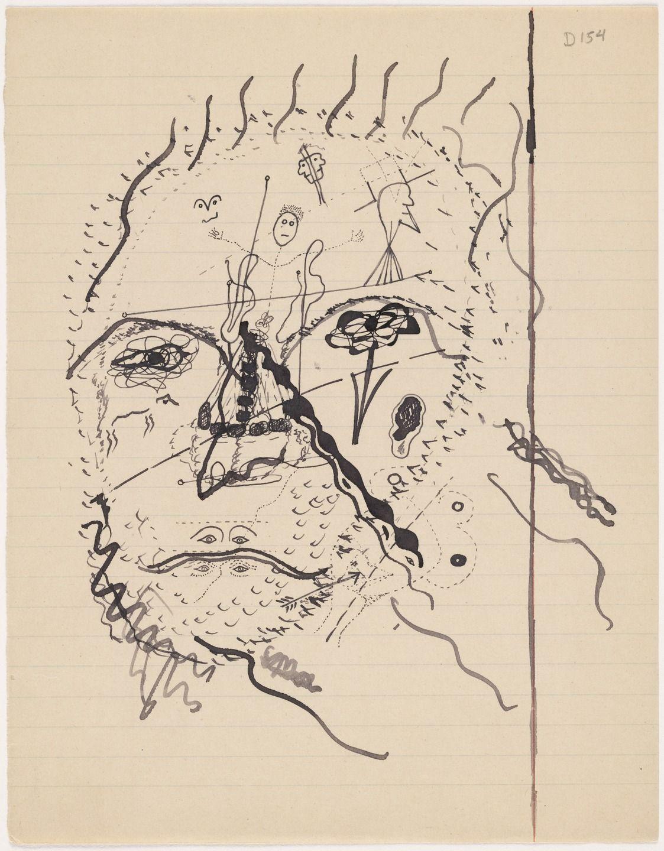 Один из рисунков Жоржа Батая