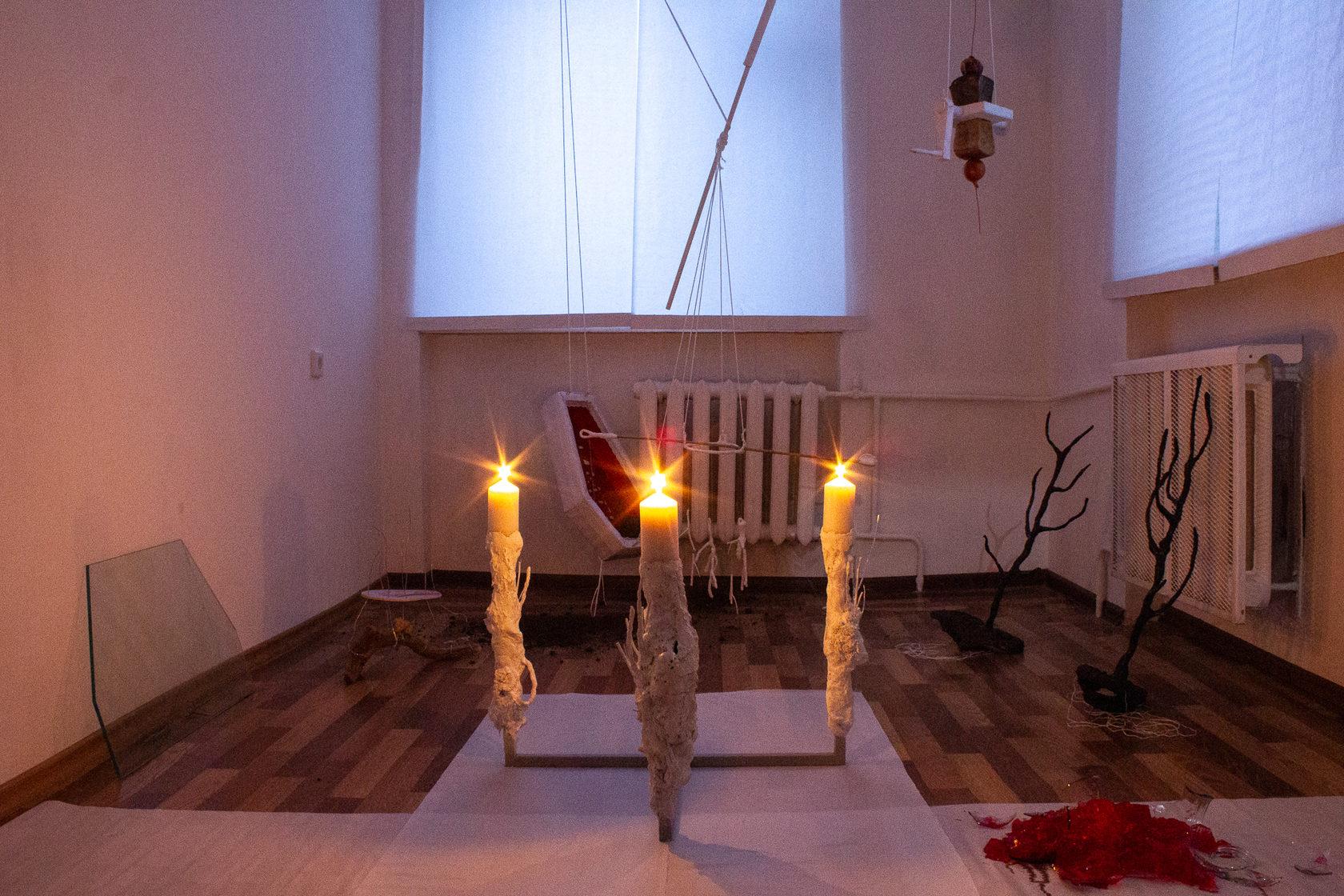 Ирка Солза, «Бог-структура» и другие работы (Из «Каталога простых машин», 2013-2019).