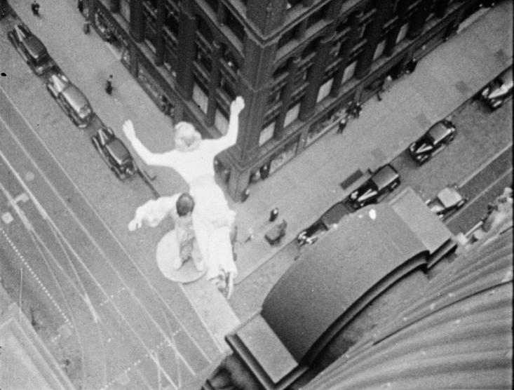Брюс Коннер. Кадр из «Фильма», первой found footage картины в истории кино. 1958