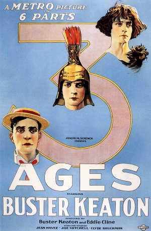 Three Ages (Edward F. Cline (as Eddie Cline) and Buster Keaton; 1923)